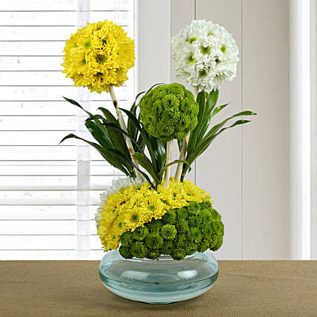 Adored Floral Arrangement: Premium Flowers