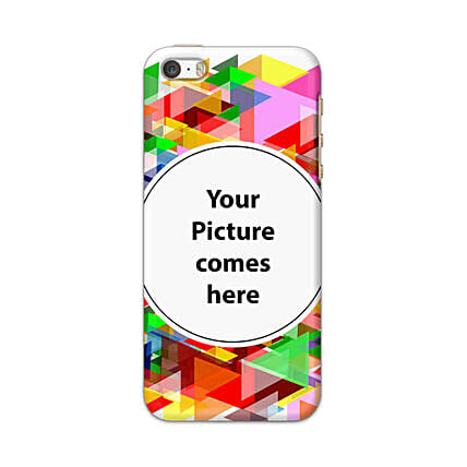 Apple iPhone 5, 5S & SE Customised Vibrant Mobile Case: Personalised Apple Mobile Covers