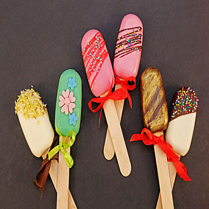 Beautifully Delicious Cakesicles Set of 6: Cakesicles
