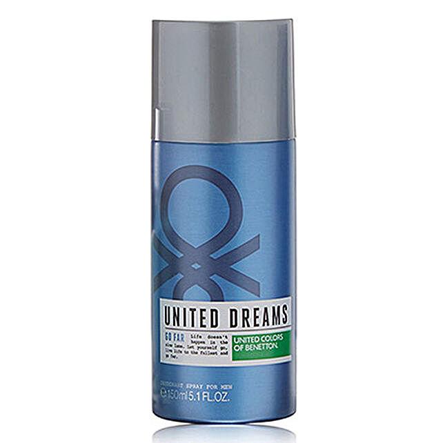 Benetton United Dreams Go Far Deodorant For Men: Buy Perfume