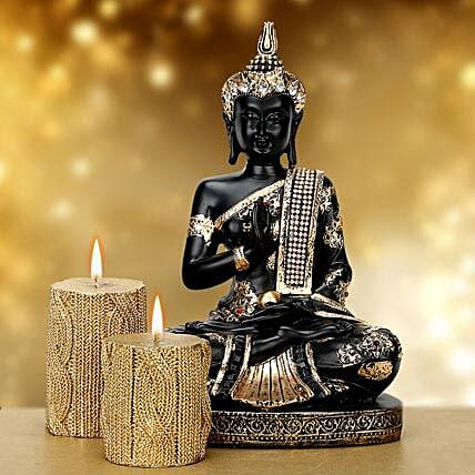 Blissful Buddha: Candles