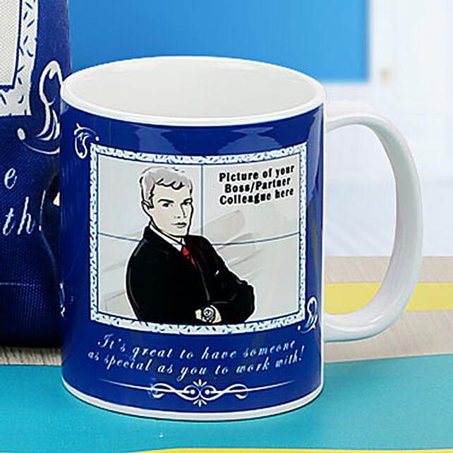 Boss The Personalized Mug: Retirement Gift