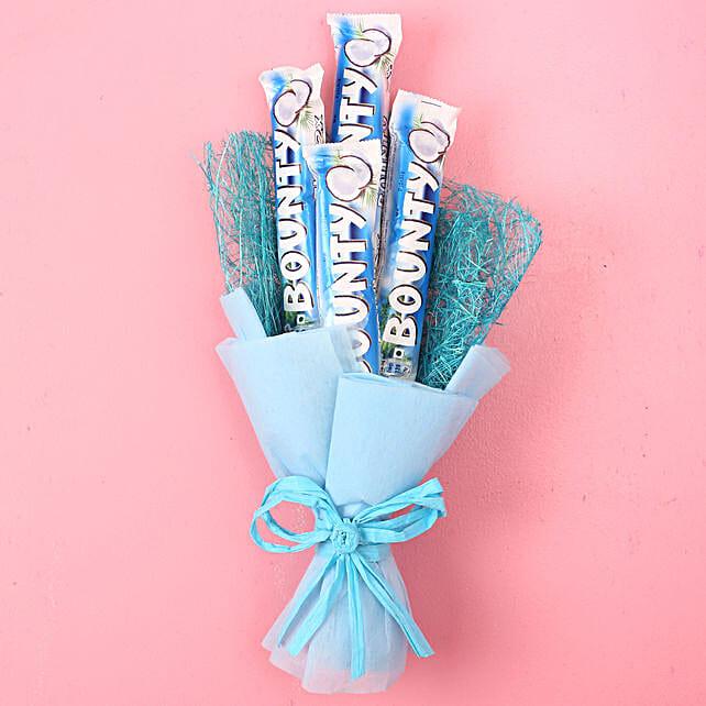 Bounty Chocolate Bouquet: Chocolate Bouquet