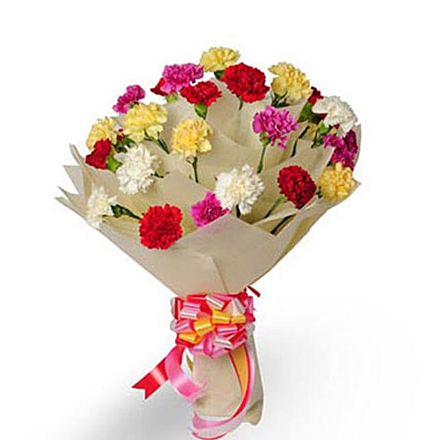 Bright Fervor EXDFNP33: Mixed Colour Flowers