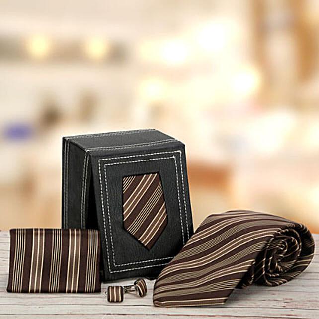Brown Stripped: Send Gift Hampers