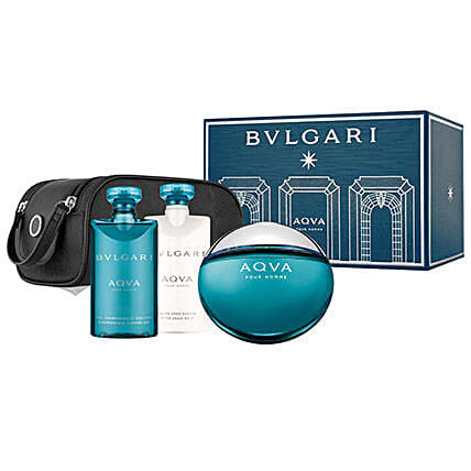 BVLGARI Aqua Gift Set For Men: Send New Year Gift Hampers