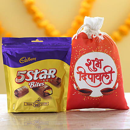 Cadbury 5 Star Pack & Deepavali Gunny Bag: