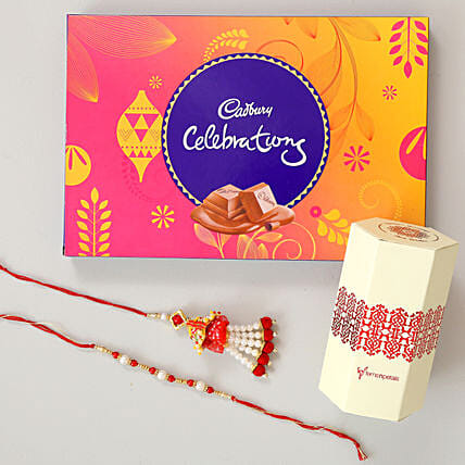 Cadbury Celebrations & Lumba Rakhi Combo: