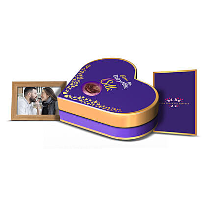 Cadbury Dairy Milk Silk Love Box: Cadbury Chocolates