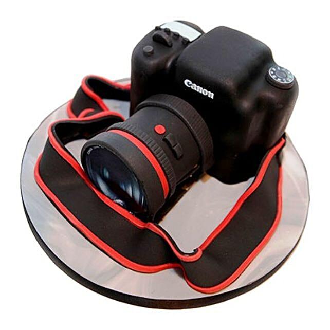 Camera Cake: Send Designer Cakes