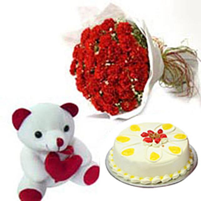 Carnation of Paradise: Cakes N Teddy Bears