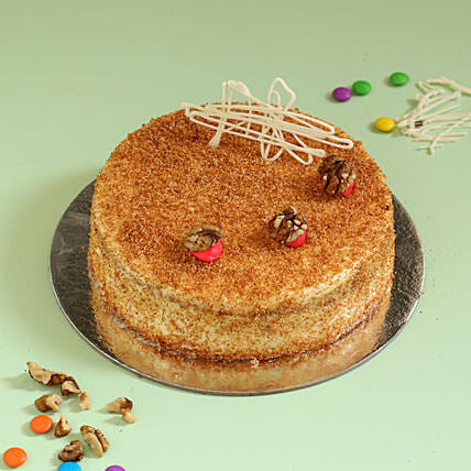 Carrot Walnut Cake: Cakes Delivery India