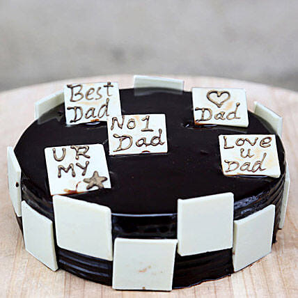 Choco Play Cake For Day: Gift for Dad