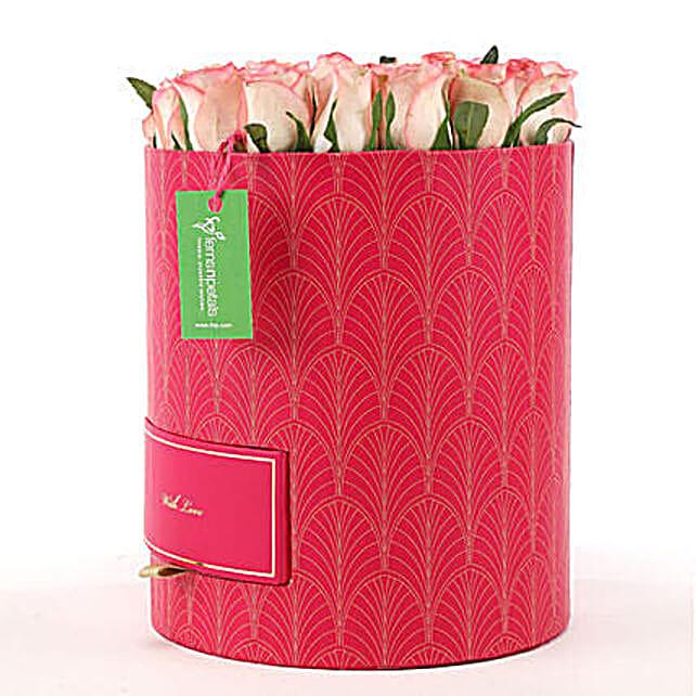 Chocolates & Shaded Roses Box: Roses