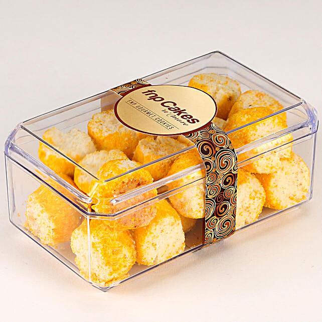 Coconut Cookie Box: Cookies