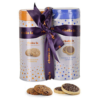 Cookie Combo- Almond & Chocochip: Cookies