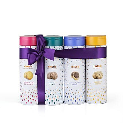 Cookie Combo Tin Pack: Gourmet Gifts
