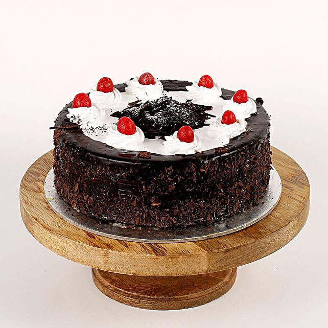 Cream Drop & Cherry Black Forest Cake: Baisakhi