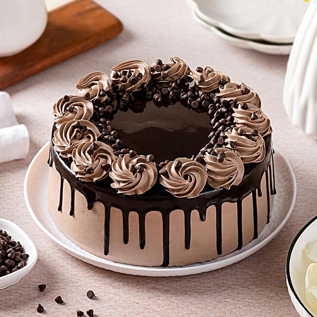 Cream Drop Chocolate Cake: Send Cake