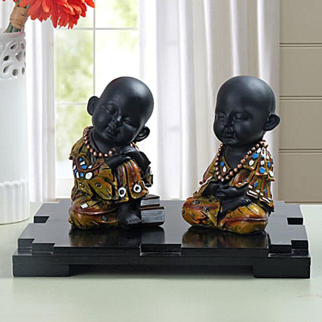 Decorative Monks: Show Pieces