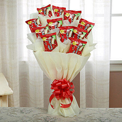 Delicious Choco Pie Bouquet: Return Gifts