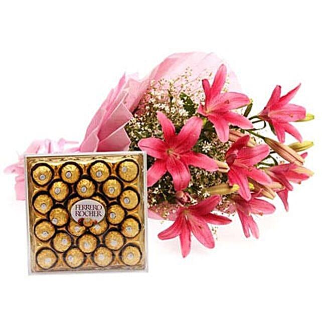 Falling In Love: Send Lilies