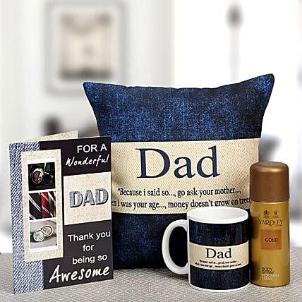 For My Wonderful Dad: Send Gift Hampers