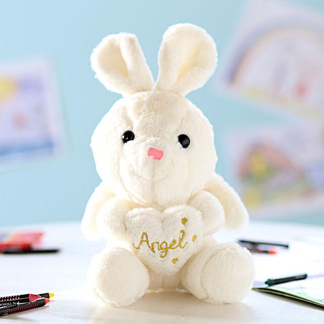 Hanging Angel Rabbit Soft Toy: Send Soft Toys