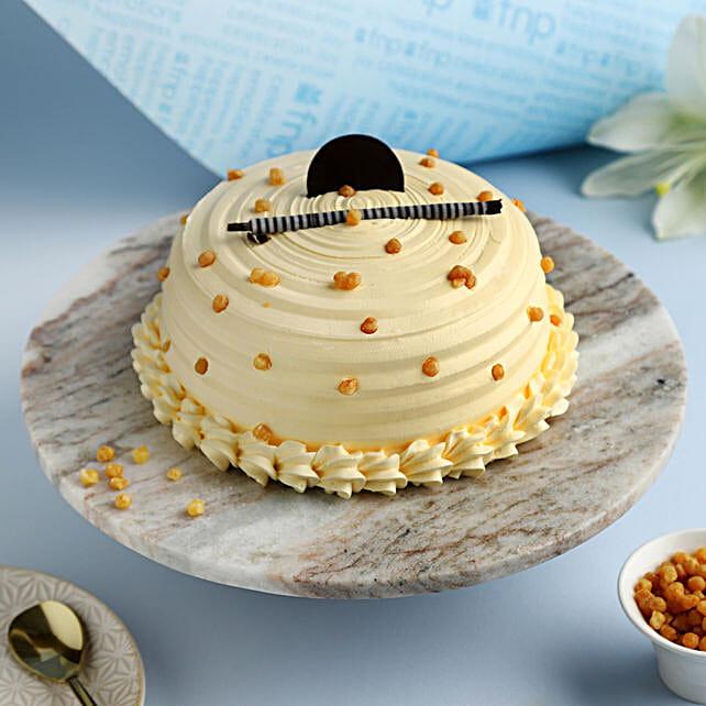 Heavenly Butterscotch Cream Cake: Cakes