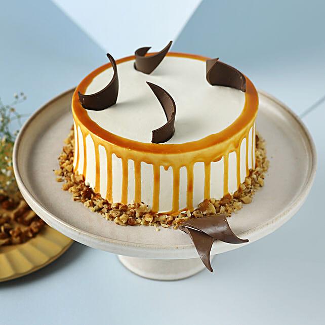 Heavenly Caramel Walnut Cake: Walnut Cakes