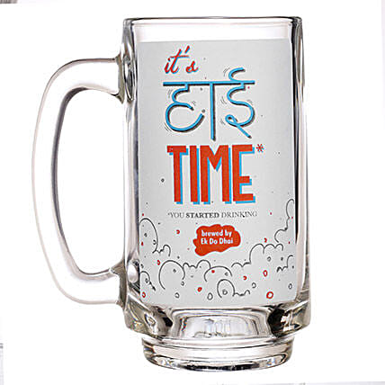 It is High Time Beer Mug: Send Unique Gifts