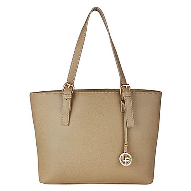 Lino Perros Charismatic Grey Tote Bag: Handbag Gifts