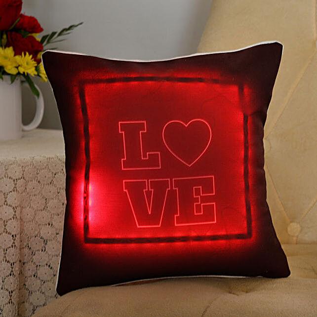 Love LED Cushion: