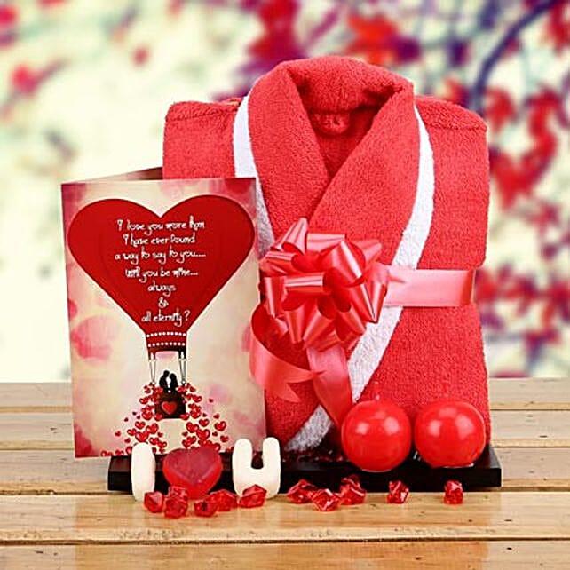 Love n Romance Hamper: Candles