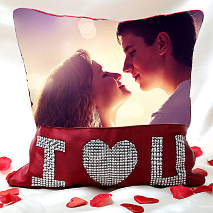 Love Special Personalized Cushion: Send Gifts To Goregaon