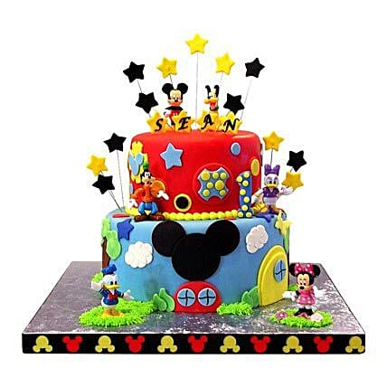 Mickey Mouse Clubhouse Cake Cakes
