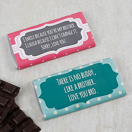 Mint And Chocochips Chocolate Bars: Personalised Chocolates