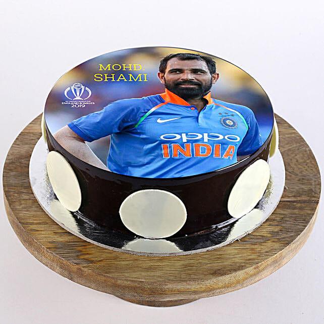 Mohd. Shami Photo Cake: