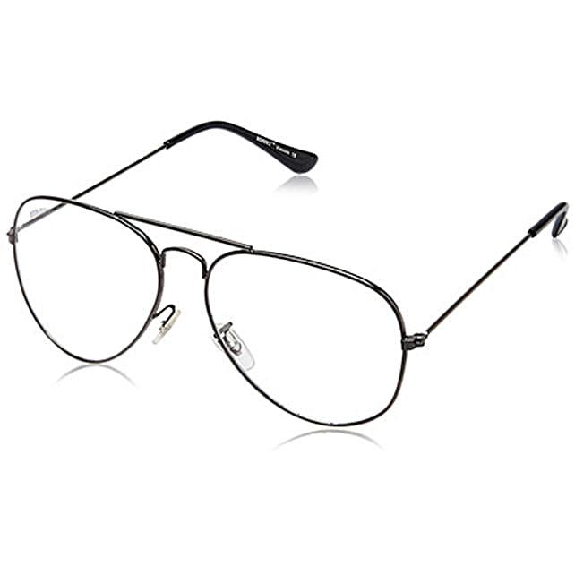 MTV Roadies Transparent Unisex Aviator Sunglasses: Sunglasses