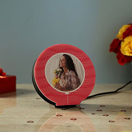 Personalised Beautiful LED Lamp: Personalised Lamps