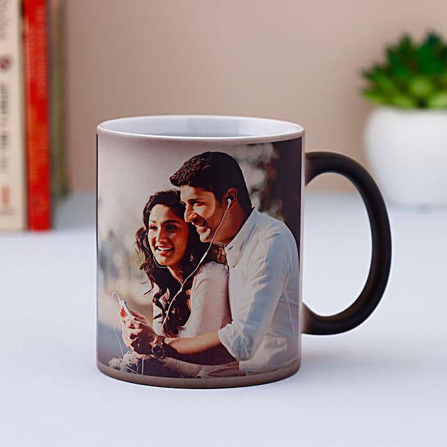 Personalised Black Magical Mug Gift For Boyfriend