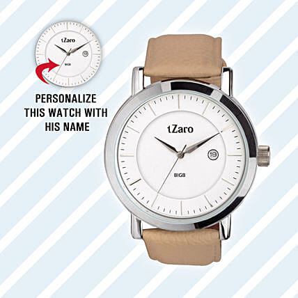 Personalised Classy Watch For Him: