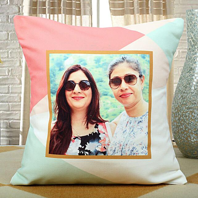 Personalised Designer Cushion: Rakhi Personalized Gifts