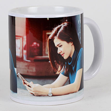 Personalised White Ceramic Mug: Buy Coffee Mugs