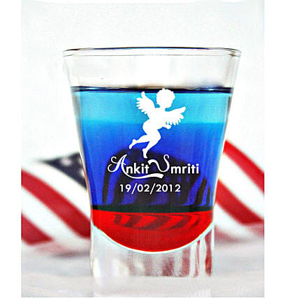 Personalised Set Of 2 Shot Glasses 1027: Personalised Shot Glasses