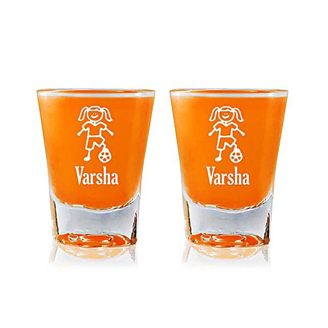 Personalised Set Of 2 Shot Glasses 2309: