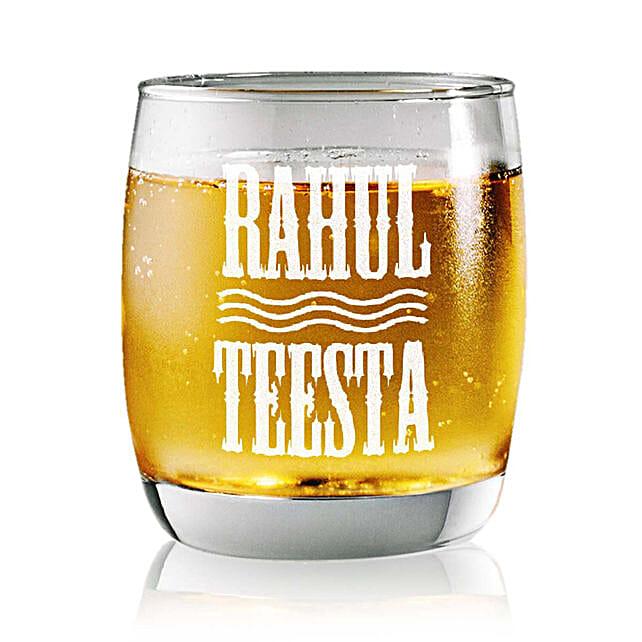 Personalised Set Of 2 Whiskey Glasses 2358: