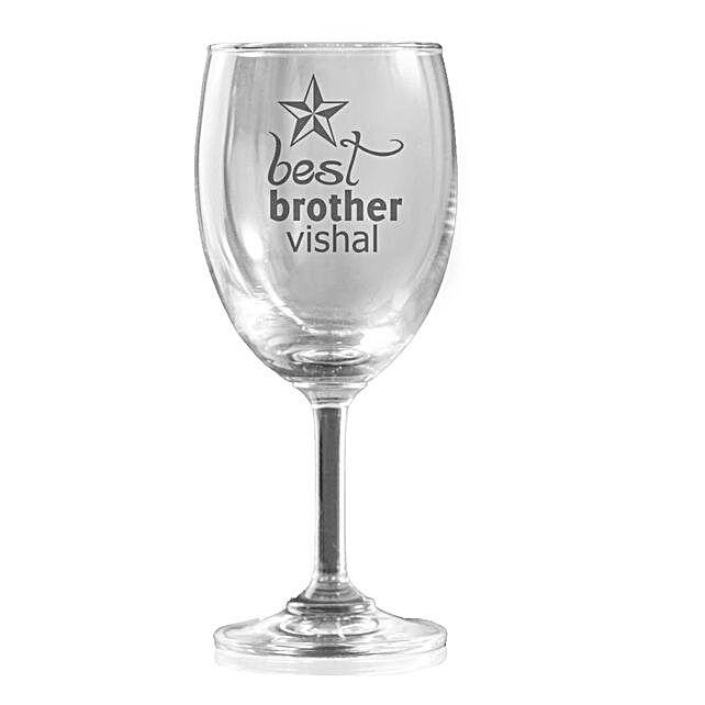 Personalised Set Of 2 Wine Glasses 1330: