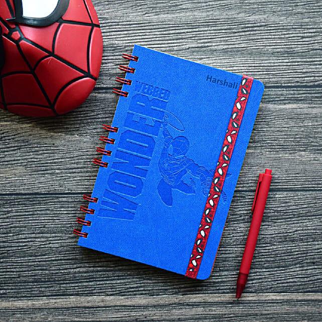 Personalised Webbed Wonder Wiro-Notebook: Gift Ideas