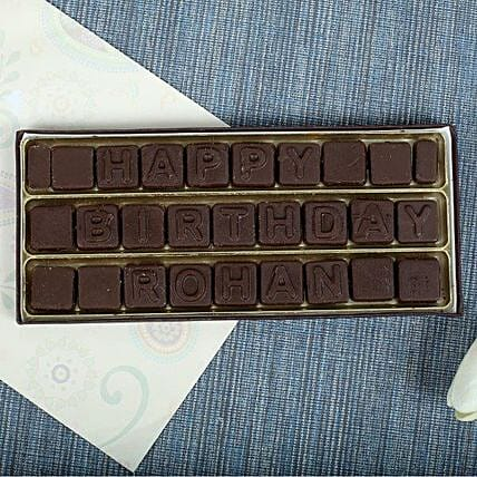 Personalized Birthday Chocolates: Chocolate Gifts in India